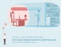 Inglés UTN Blended Learning Campaign