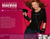 Jaques moreno beauty salon website first option