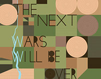 """The Next Wars Will Be Over Water"" Poster"