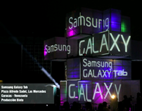 Samsung Galaxy Tab Videomapping and adaptation
