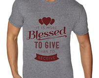 """More Blessed"" Tshirt Concepts"