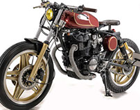 "Honda Cb400N Special ""BRIGANTE"""