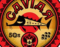 Caviar label