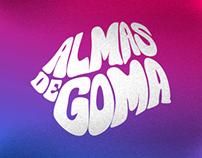 Almas de Goma - Logo - Posters