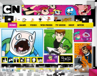 Cartoon Network Web Promo EMEA 2010 - Rebranding