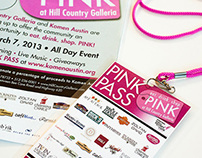 eat. drink. shop. PINK Campaign | Hill Country Galleria