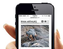 Ryan Arthurs Portfolio Site
