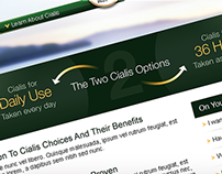 Cialis / branding, interactive and web solutions