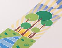 Street Pole Banner - Botanic Gardens Christchurch