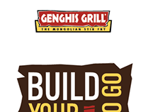 Genghis Grill to go bag