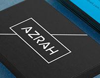 AZRAH Builders - Logo & Branding Design