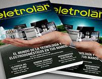 Tapas de revista ELETROLAR - BRASIL