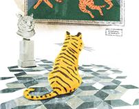 Tiger in St. Petersburg