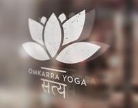 Omkarra Yoga Branding