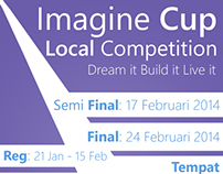 Imagine Cup Wild Card Poster