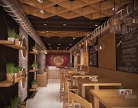 Pita&Chevapy restaurant, Zagreb