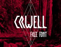 Crwell Font (Free)