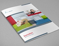 IT Company Brochure Design Template - 12 Pages