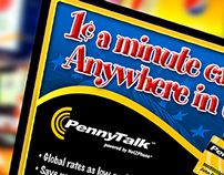 PennyTalk, AOL, IDT, Net2Phone Branding + Marketing
