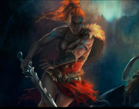 Diablo III - Barbarian fanart