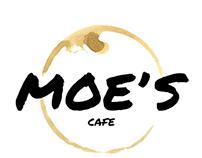 Moe's Cafe Branding