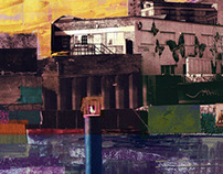 Canal Bank Collage Series 1