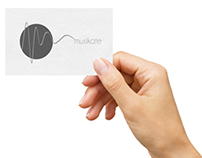 Branding - Business cards / Music therapy centre
