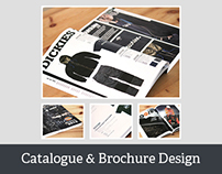 Catalogue & Brochure Design