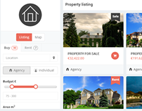 Property Admin Panel Html template