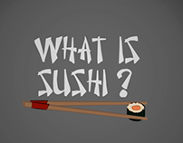 How to make sushi - Animated infographic