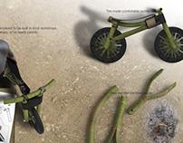 Social walkbike