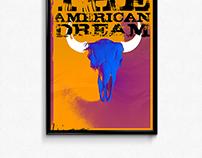 "The American Dream - ""Skulls"" Poster Series #3"
