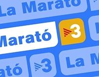Empreses per la Marató, Tv3