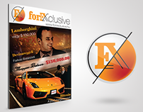 Magazine layouts (Forexclusive)