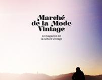 Marché de la Mode Vintage - Webdesign