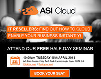 ASI Cloud Seminar Invite Email