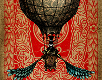 Airship for Jules Verne