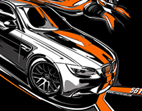 some fast poster/tshirt grafix with e92 BMW M3