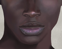 Black Skin Color Study - WIP