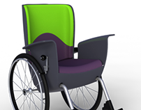 Duo: the wheelchair for two