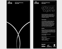 Branding the Design Effectiveness Awards - DBA