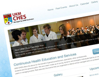 Website for UKM Ches