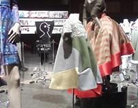 Felt/ Wool Dress