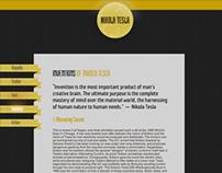 Nikola Tesla - Historical Website