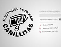 Agrupación 25 de Mayo canillitas