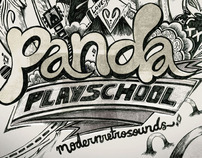 Panda PlaySchool Gig Poster