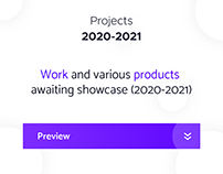 Projects 2020-2021 (Product Design, Development)