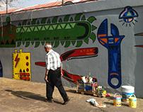 "Mural ""El kinder"""