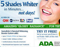 Teeth whitening design