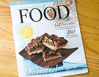 Magazine Cover Design & Inside Spreads